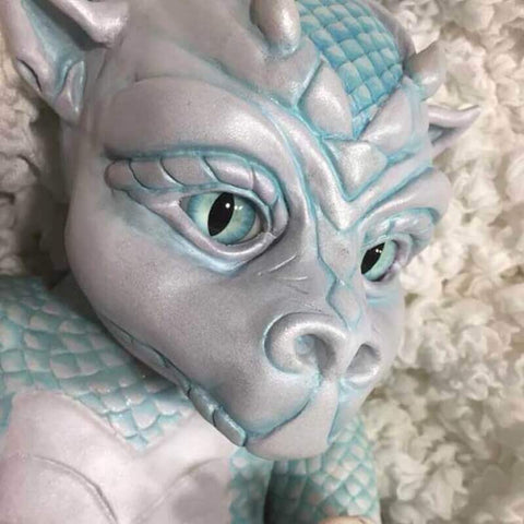 "Dragon Drake: 22"" Sharp Eyes Dragon Baby Doll - Newborn Doll"
