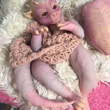 Brantley: Wingless Scaly Skin Realistic Dragon Baby Doll - Kiss Reborn