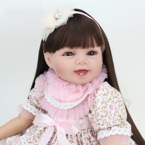 Olivia - 22'' Charming Realistic Reborn Baby Girl Little Princess NPK Doll - Newborn Doll