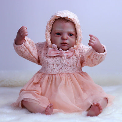 Alisha: Big Hazel Eyes Charming Reborn Baby Doll Girl - Kiss Reborn