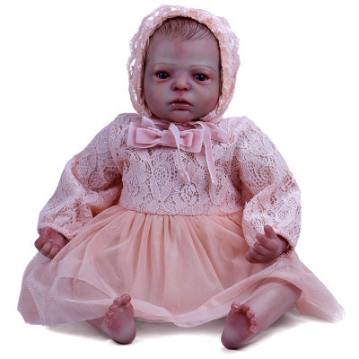 Alisha: Big Hazel Eyes Charming Reborn Baby Doll Girl - Newborn Doll