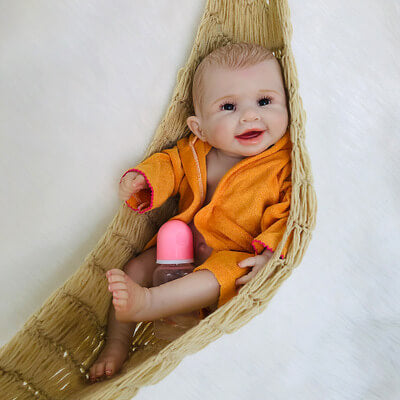 Andrea: Cheerful Realistic Baby Doll Girl - Newborn Doll