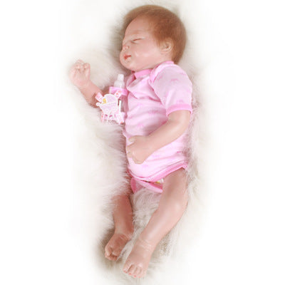 Asher: Closed Eyes Real Baby Look Baby Doll - Newborn Doll