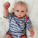 "Bancroft: 20"" Cheerful Newborn Naive Baby Doll Boy - Newborn Doll"