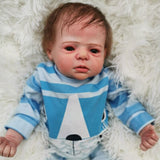 "Bard: 22"" Fussy Realistic-looking Newborn Baby Doll Boy - Newborn Doll"