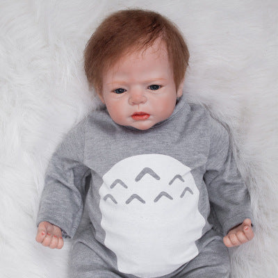 Edgar: Open Mouth Reborn Baby Doll Boy - Newborn Doll