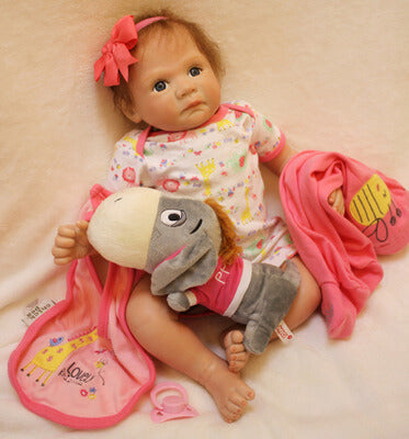 Fanny: Cuddle Reborn Baby Doll Girl - Newborn Doll