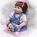 NPK 22'' Full Body Silicone Reborn Baby Doll Girl Ariel - Newborn Doll
