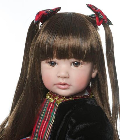24'' Vinyl Silicone Head Lifelike Baby Reborn Princess Doll Aurora - Newborn Doll