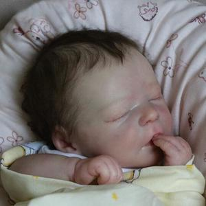 Ogden: Newborn Look Sleeping Real Baby Doll Boy for Best Childhood Playmates - Kiss Reborn