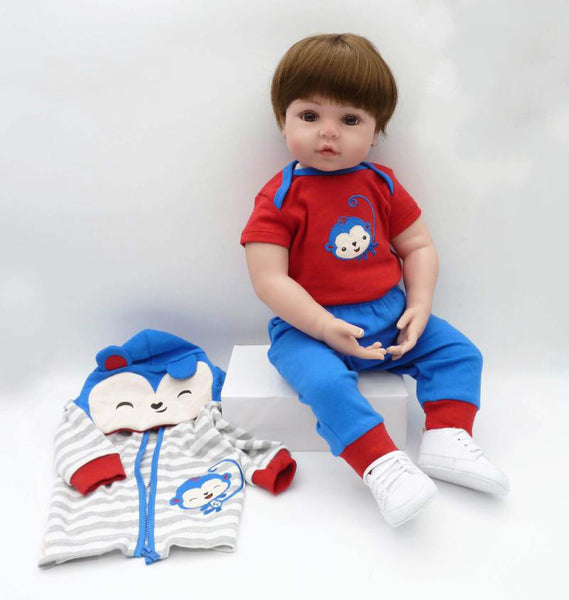 Full Body Realistic Silicone Baby Toddler Girl Ava for Sale - Newborn Doll