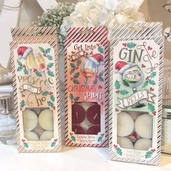 Cute Christmas Scented Tea Lights