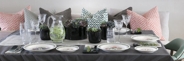 Botanic Garden Table Setting