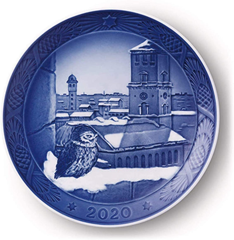 Royal Copenhagen Christmas Plate 2020 - Church of our Lady