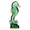 Waterford Crystal Collectable Seahorse in Emerald Green