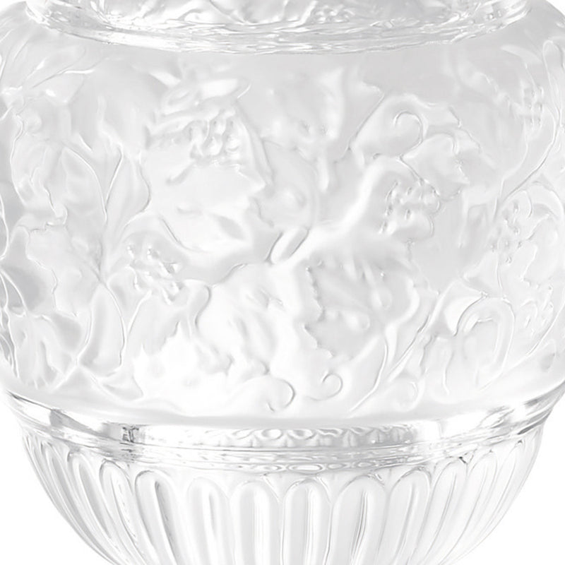 Lalique Versailles Vase in Clear