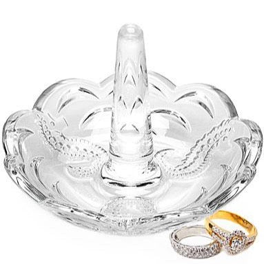 Waterford Crystal Seahorse Ring Holder