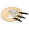 KitchenCraft Cheese Serving Set With Board and 3 Cheese Servers
