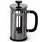 La Cafetiere Pisa 8 Cup Cafetiere in Gun Metal Grey
