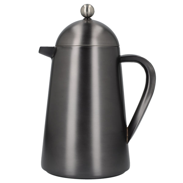 La Cafetiere Edited Double Walled 8 Cup Thermique in Gun Metal Grey