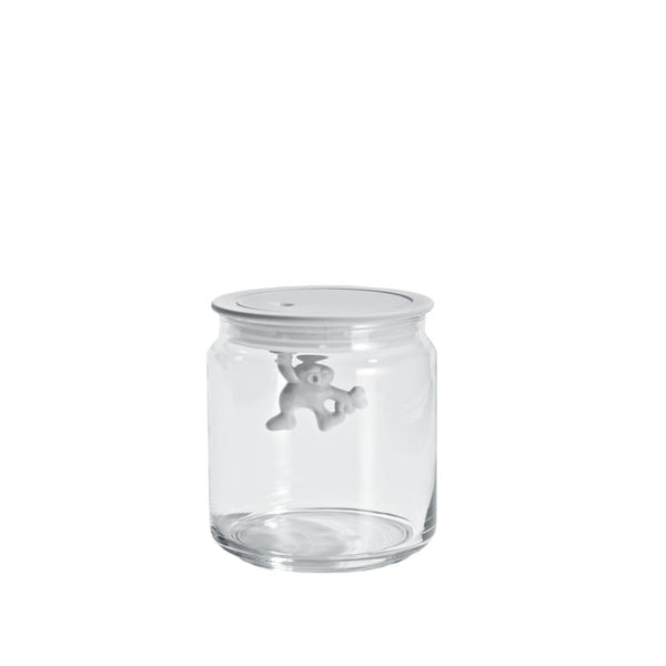 Alessi Gianni Glass Box in White 70cl