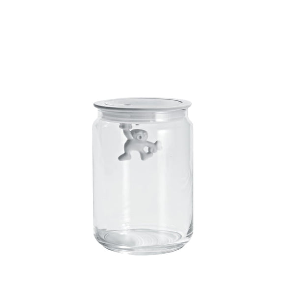 Alessi Gianni Glass Box in White 90cl