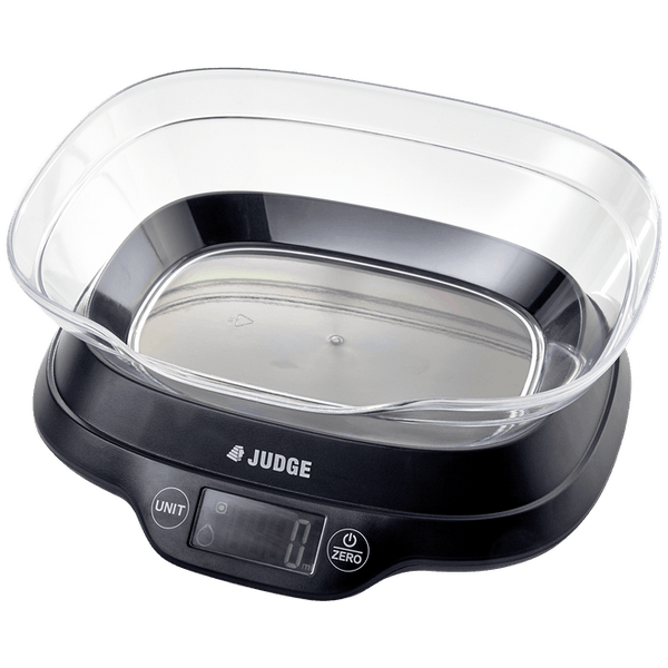 Judge 5kg Digital Bowl Scale - Cook N Dine