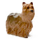 John Beswick Dogs - Yorkshire Terrier Grey & Sandy Brown Gloss