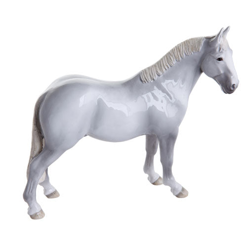 John Beswick Horses - Hunter (Grey)