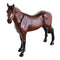 John Beswick Horses - Thoroughbred Stallion (Dark Bay)