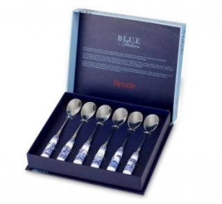 Spode Blue Italian Tea Spoons (Set of 6)