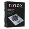 Taylor Pro Glass Digital 5Kg Kitchen Scales - Pewter