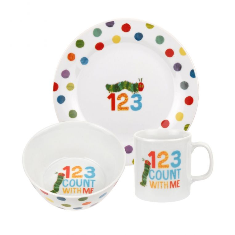 Portmeirion The Very Hungry Caterpillar Children's Tableware Set