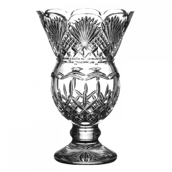 Waterford Crystal Lismore Thistle Vase 32.5cm