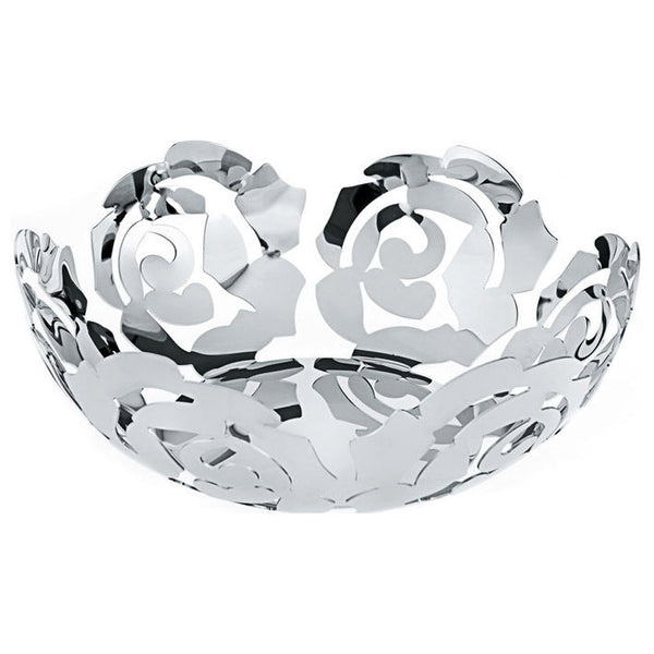 Alessi La Rosa Fruit Bowl in 18/10 Stainless Steel ESI15/29