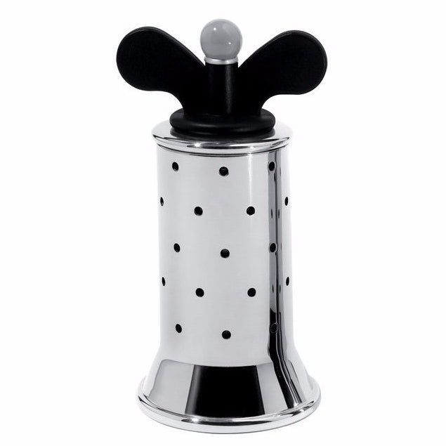 Alessi Michael Graves Stainless Steel Pepper Mill Black