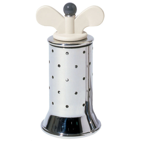 Alessi Michael Graves Stainless Steel Pepper Mill White/Ivory