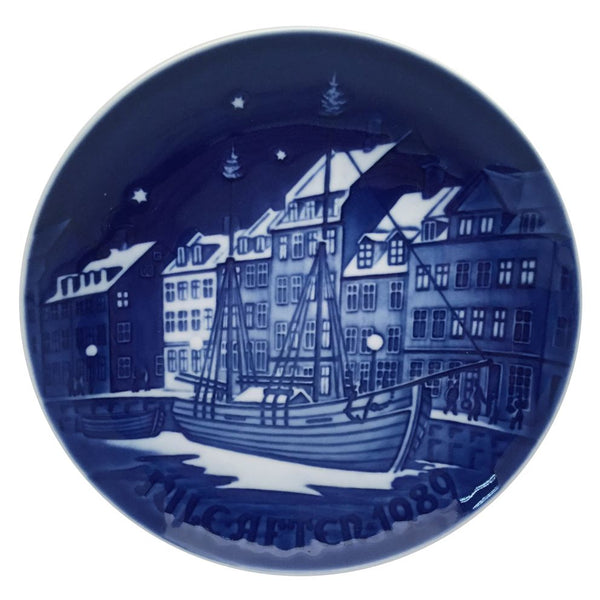 Bing & Grondahl Christmas Plate 1989 - Christmas Anchorage