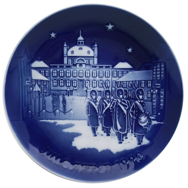 Bing & Grondahl Christmas Plate 1990 - Changing of the Guards
