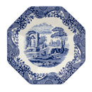 Spode Blue Italian 250th Collection Octagonal Platter 14""