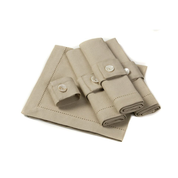 C'est Ca Napkins Taupe (Set of 4)