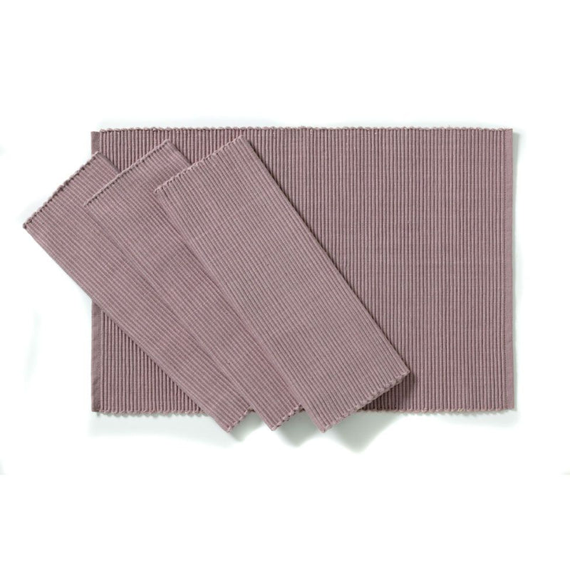 C'est Ca Ribbed Placemats Rose (Set of 4)