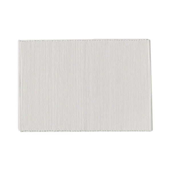 C'est Ca Ribbed Placemats White (Set of 4)