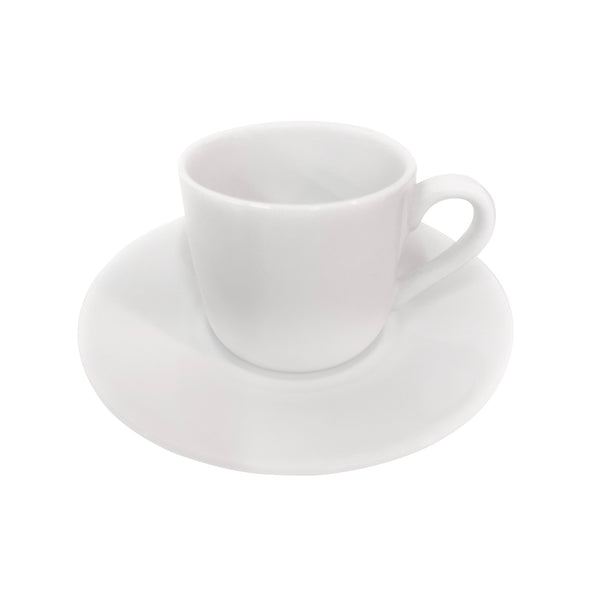 Royal Worcester Classic White Coffee Cup & Saucer