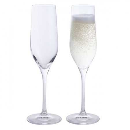 Dartington Crystal Wine & Bar Flute Set of 2