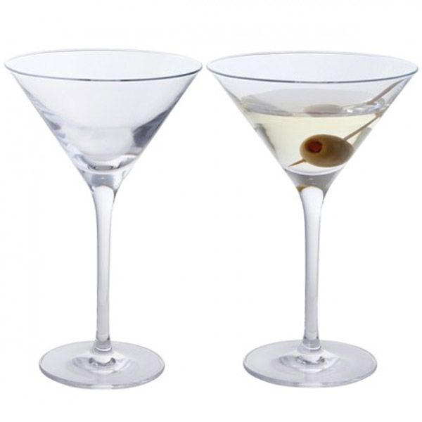 Dartington Crystal Wine & Bar Martini Set of 2