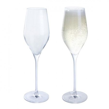 Dartington Crystal Wine & Bar Prosecco Glasses Set of 2