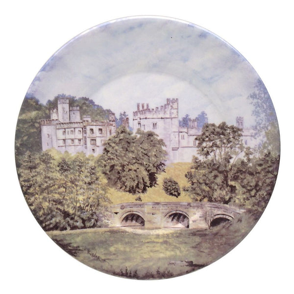 Haddon Hall Plate - Taken from an original watercolour by Raymond Everill