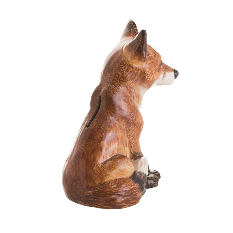 John Beswick Animal Money Bank - Fox