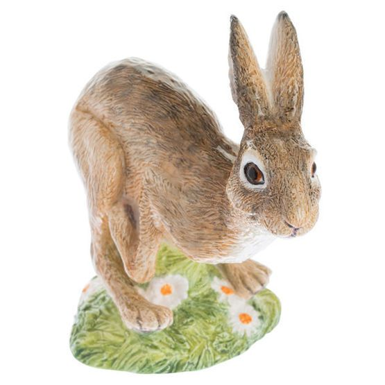John Beswick Country Animals - Leaping Hare